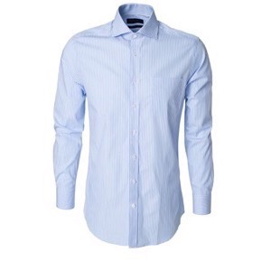Stripefield Tailored Shirt Blue Striped