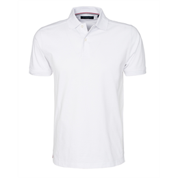 Berkeley | Camden Stretch | Herre Polo <span>White</span>
