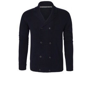 Berkeley | Fleetwood Doublebreasted | Herre Cardigan <span>Navy</span>