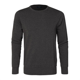 Berkeley | Brockton Crewneck | Herrestrik Dark Grey