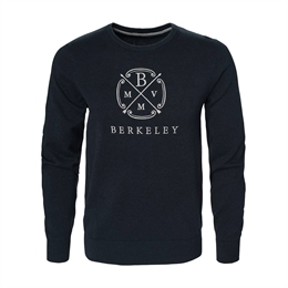 Berkeley | Berkeley Crew Neck | Unisex strik Navy Blue