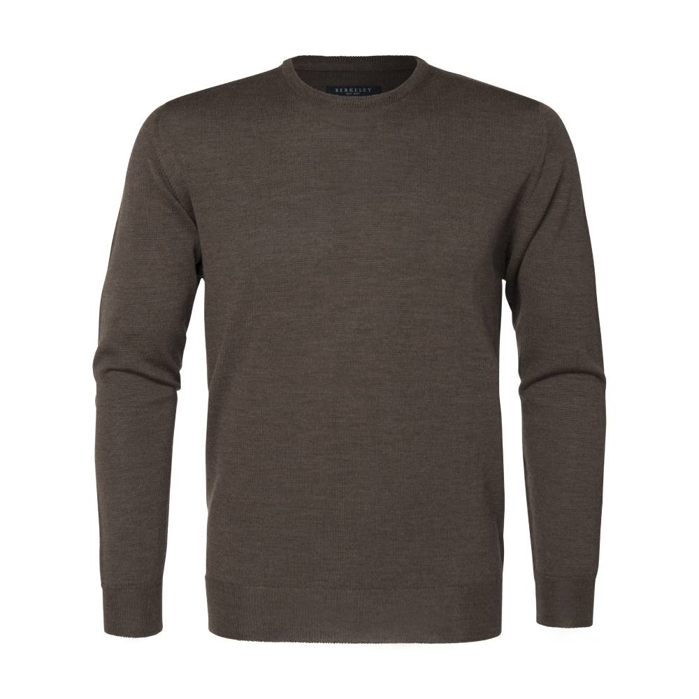 Berkeley | Wilton Cashwool Crewneck | Herrestrik Brown
