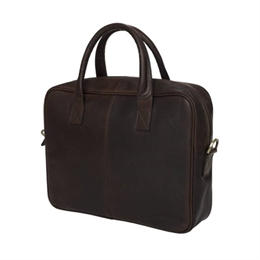 Berkeley | Woodley | Computer Bag Dark Brown