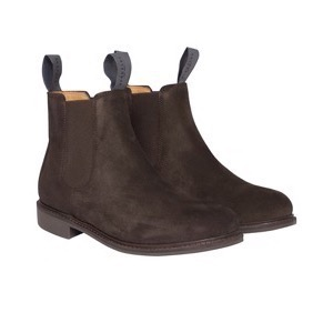 Berkeley | Suede Chelsea Boot | Damestøvle Brown