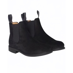 Berkeley | Suede Chelsea Boot | Damestøvle Black