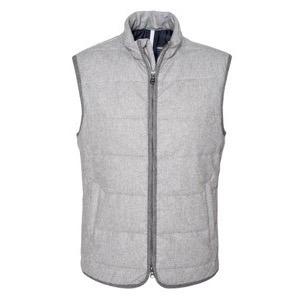 Berkeley | Monza Wool Vest Grey Mélange