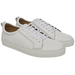 Berkeley | Luigi Leather Sneaker | Dame Sneaker White