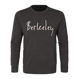 Berkeley | Signature Crew Neck | Strik Dark Grey