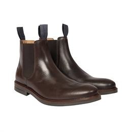 Berkeley | Chelsea Leather Boot | Herrestøvle <span>Brown</span>