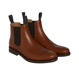 Berkeley | Chelsea Leather Boot | Herrestøvle Cognac