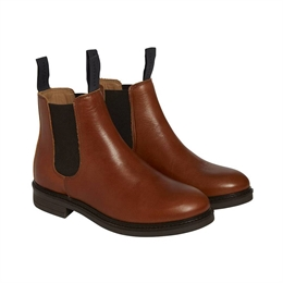 Berkeley | Chelsea Leather Boot | Damestøvle Cognac
