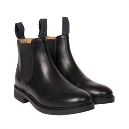 Berkeley | Chelsea Leather Boot | Damestøvle Black
