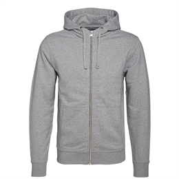 Berkeley | Alfie Zip Hood | Herre Sweater Grey Melangé