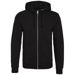 Berkeley | Alfie Zip Hood | Herre Sweater Black