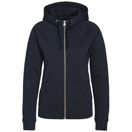 Berkeley | Alfie Zip Hood | Dame Sweater Navy