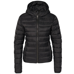 Berkeley | Alford Hooded | Damejakke Black