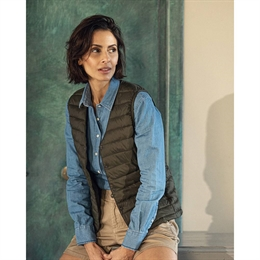 Berkeley | Alford Vest | Damevest Army Grøn