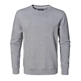Berkeley | Alfie | Herre Sweater <span>Grey Melange</span>