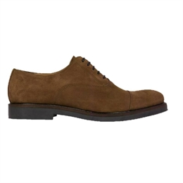 Berkeley | Oxford Derby Suede | Herresko Cognac