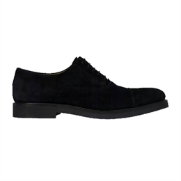 Berkeley | Oxford Derby Suede | Herresko Black