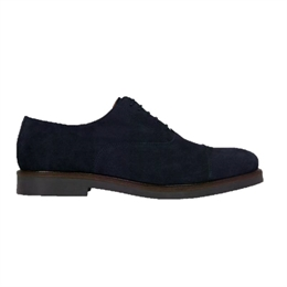Berkeley | Oxford Derby Suede | Herresko Navy