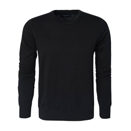 Berkeley | Brockton Crewneck | Herrestrik Black