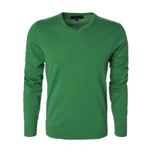 Berkeley | Brockton V-Neck | Herrestrik Green