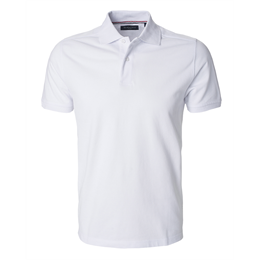 Berkeley | Camden | Herre Polo <span>White</span>