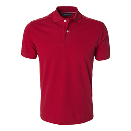 Berkeley | Camden | Herre Polo <span>Red</span>
