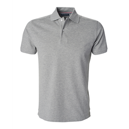 Berkeley | Camden | Herre Polo <span>Grey Mélange</span>