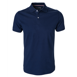Berkeley | Camden Stretch | Herre Polo Storm Blue