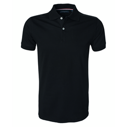 Berkeley | Camden Stretch | Herre Polo <span>Black</span>