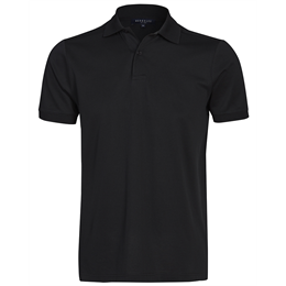 Berkeley | Commuter Polo | Herre Polo Black