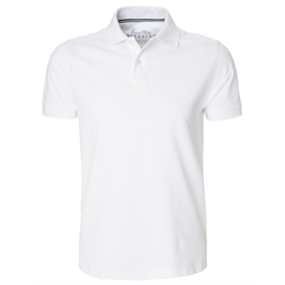 Berkeley | Everett | Herre Polo White