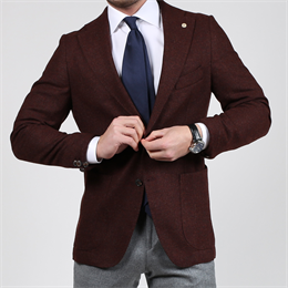 Cavaliere | Roy | Slim Fit Jakke Bordeaux