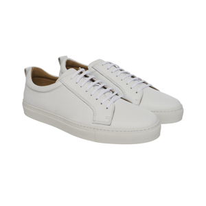 Berkeley | Luigi Leather Sneaker | Herre Sneaker <span>White</span>
