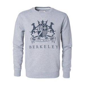 Berkeley | Maynard | Herre Sweater <span>Grey Melange</span>