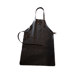 OFYR Leather Apron Black
