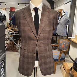 Cavaliere | Pasquale  | Slim Fit Jakke Brown Tern