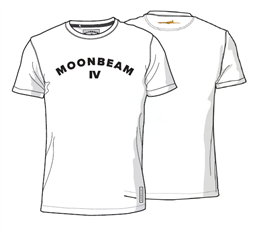 Moonbeam Polo T-shirt Hvid