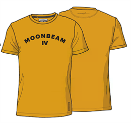 Moonbeam Polo T-shirt Mørkegul