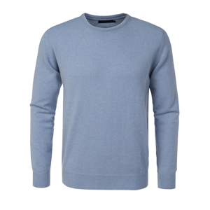 Berkeley | Sutton Cashmere Crew Neck | Strik <span>Light Blue</span>