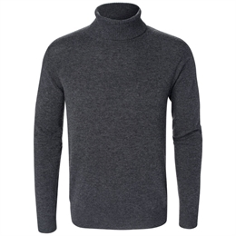 Berkeley | Webster Roll Neck | Herrestrik Grey