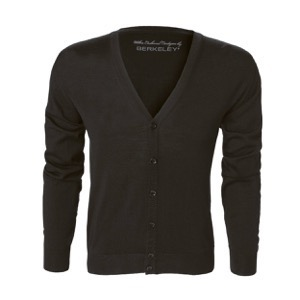 Berkeley | Wilton Cashwool | Herre Cardigan Black