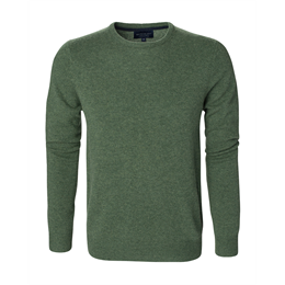Berkeley | Woodbridge Crewneck | Herrestrik Green Mélange