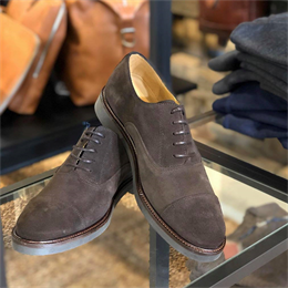 Berkeley | Oxford Derby Suede | Herresko Brown