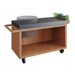 OFYR Kamado Table Corten PRO Concrete BGE